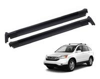 Пороги - подножки черные Honda CR-V (CRV) 2007-2011