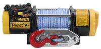 Электрическая лебёдка T-MAX ATW-PRO 4500 (12V) синтетический трос