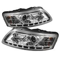 Альтернативные фары (оптика) диодные Audi A6 (линза)