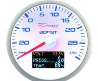 Датчик DEPO 4 в 1 давление турбины, давление масла, температура масла и вольтаж