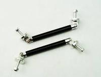 Кронштейн - крепление для обвеса, бампера, спойлера 19см (черное)