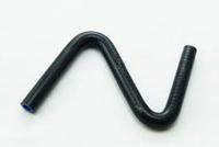 Патрубок водостойкий универсальный Z-образный 12мм черный