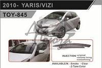 Ветровики - дефлекторы окон Toyota Vitz/Yaris P13# 2010+ (TXR Тайвань)