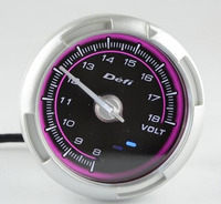 Датчик DEFI C2 Advance розовый Volt (вольметр)