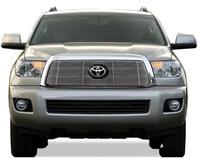 Накладка на решетку радиатора Toyota Sequoia 07-10