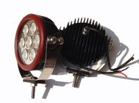 Светодиодная (LED) лампа 70w 7SMD красная