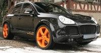 "Обвес ""Gambella Aero"" на Porsche Cayenne 955"