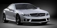 Аэродинамический обвес Mansory для Mercedes SL63 и SL 65 AMG (R230)