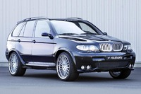 Аэродинамический обвес Hamann Widebody для BMW X5 E53