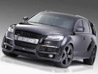 Аэродинамический обвес JE Design Wide Body для Audi Q7 (4L) S-line