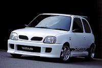 Аэродинамический обвес WALD Spritzer для Nissan Micra (K11)