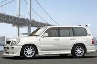 Пороги (обвес) Jaos для Toyota Land Cruiser 100