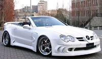 Аэродинамический обвес VITT Super Wide Edition для Mercedes SL-class (R230)