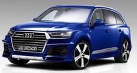Аэродинамический обвес JE Design для Audi Q7 S-line (c 2015 г.в.)