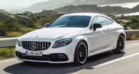 Обвес С63 AMG для Mercedes C Coupe C205
