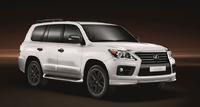 Обвес Sport Luxury на Lexus LX570 2014г