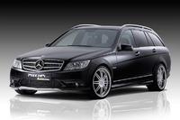 Аэродинамический обвес Piecha Design для Mercedes C-class (W204)