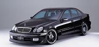 Аэродинамический обвес Fabulous для Mercedes C-class (W203)