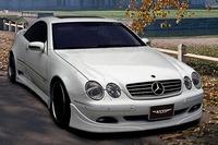 Аэродинамический обвес VITT Super Wide Version для Mercedes CL-class (W215)