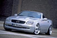 Аэродинамический обвес WALD Executive Line для Mercedes SLK-class (R170)