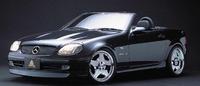 Аэродинамический обвес Auto Couture Credential Line для Mercedes SLK-class (R170)
