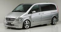 Аэродинамический обвес WALD Executive Line для Mercedes Viano (W639)