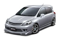 Аэродинамический обвес Impul для Nissan Tiida (C11)