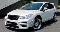 Аэродинамический обвес Kenstyle для Subaru XV