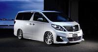 Аэродинамический обвес WALD Black Bison для Toyota Alphard (S20/25)