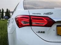 Стопы тюнинг Toyota Corolla 2012-2015 E180 (красные) стиль Mercedes