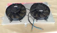 Диффузор алюминиевый с вентиляторами ВАЗ 2110