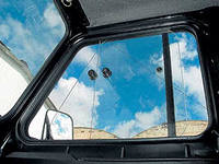 Сдвижные окна УАЗ Хантер жесткая крыша