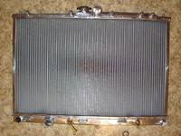 Радиатор алюминиевый Mitsubishi Airtrek 40мм AT