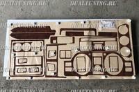 Декоративные панели (панель под дерево) Mitsubishi Pajero V26 V44 V46 1992-1999
