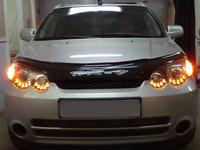 Фары (оптика) диодные Honda HR-V (HRV) линза + ангельские глазки (черные и светлые)