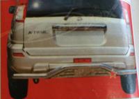 Защита заднего бампера - (дуга) Nissan X-Trail (2000-2005)