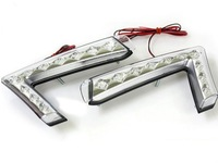 Светодиодные LED ходовые огни ДХО (DRL) «Super i» на Kia Cerato Forte