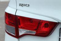 Реснички на задние фонари (накладки на стопы) Kia Rio 3