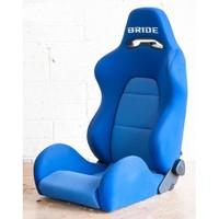 Сиденье спортивное Bride EGRO style (ковш с регулировкой) синий
