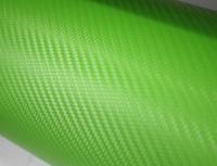 Пленка карбон 3D carbon зеленая