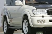 Фендера - расширители колесных арок для Lexus LX470 (+30мм)