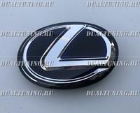 Эмблема Lexus RX450h 2009-2015 (синяя)