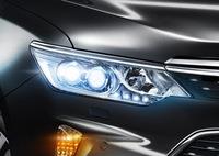 Фары рестайлинг Toyota Camry V55 2015 стиль V55 2017-2018 года 2 лизны