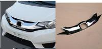 Решетка радиатора тюнинг хром Honda Fit 2014-2017