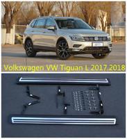 Пороги - подножки Volkswagen Tiguan 2016+