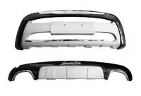 Диффузор переднего и заднего бампера Hyundai Santa Fe 2007-2012