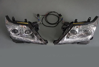 Фары (оптика) Lexus LX 570 2012-2015 бегающий поворотник