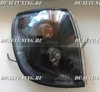 Габариты тюнинг Toyota Hilux Surf 185 черные