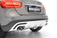 Глушитель Brabus для Mercedes GLA250 X156