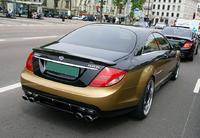 Глушители Carlsson для Mercedes CL500 CL550 C216